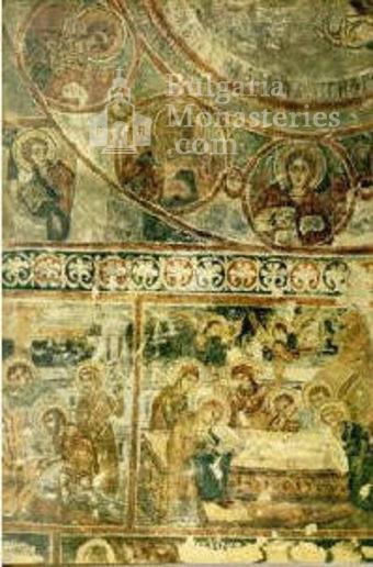 Алински манастир - Стенописи от църквата - 17 в. (Снимка 4 от 13)