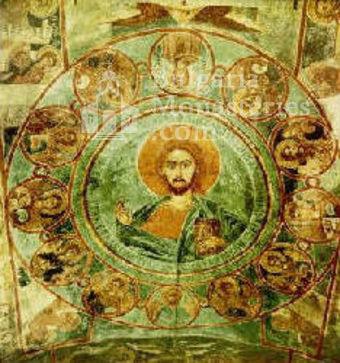 Алински манастир - Стенописи от църквата - 17 в. (Снимка 6 от 13)