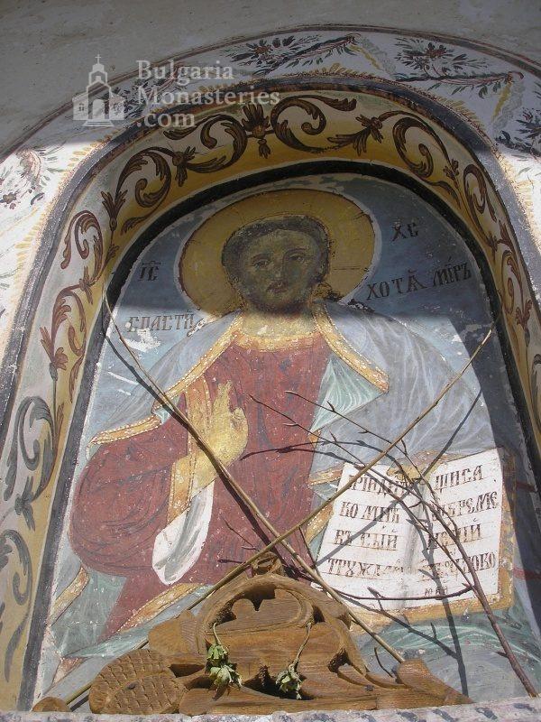 Алински манастир - Стенописи от църквата - 17 в. (Снимка 8 от 13)