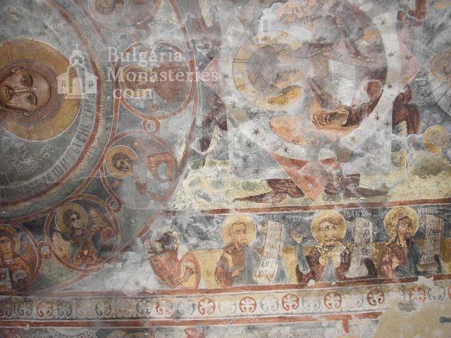 Алински манастир - Стенописи от църквата - 17 в. (Снимка 9 от 13)