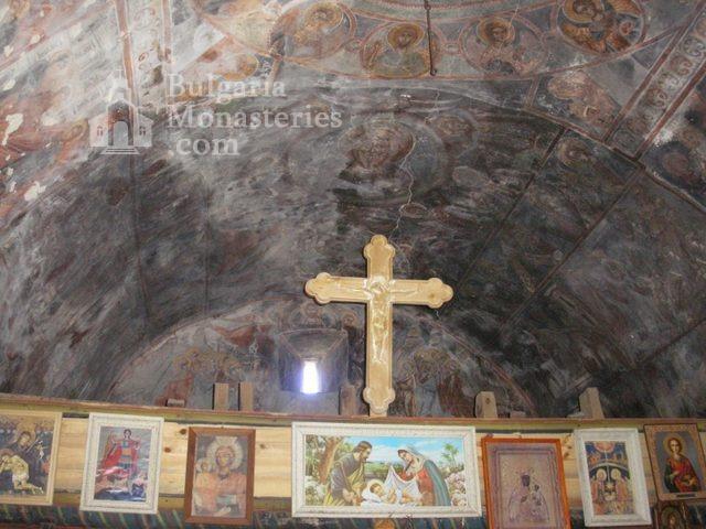 Алински манастир - Стенописи от църквата - 17 в. (Снимка 11 от 13)
