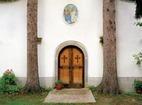 Априлски манастир  - Входът на църквата