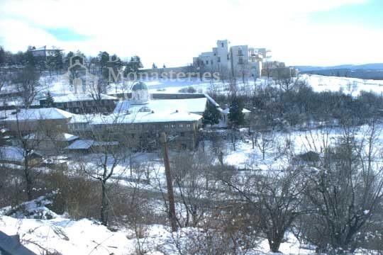 Арбанашки манастир - През зимата (Снимка 11 от 14)