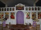 Айдемирски манастир - Олтарът в църквата