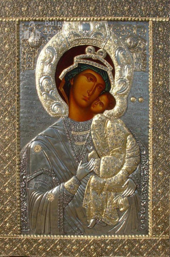 Бачковски манастир  - Иконата,,Св.Богородица