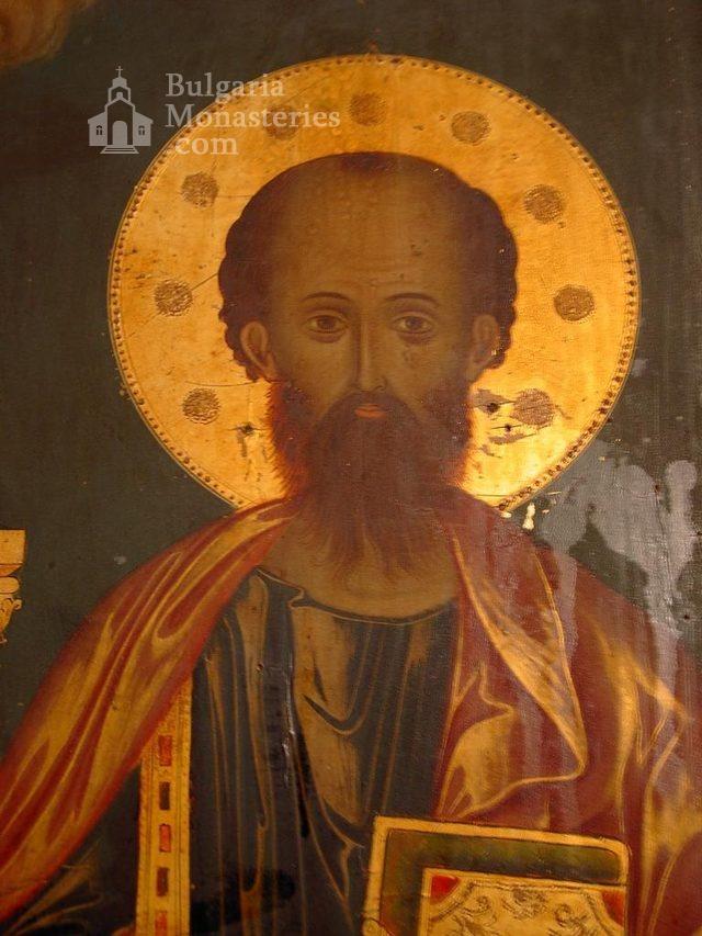 Баткунски манастир - Стенопис (Снимка 11 от 23)