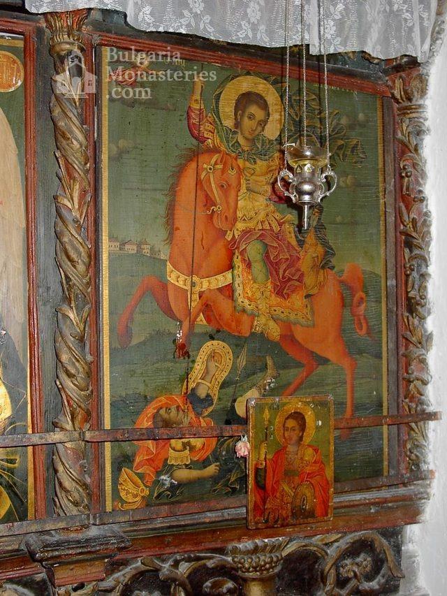 Баткунски манастир - Стенопис (Снимка 12 от 23)