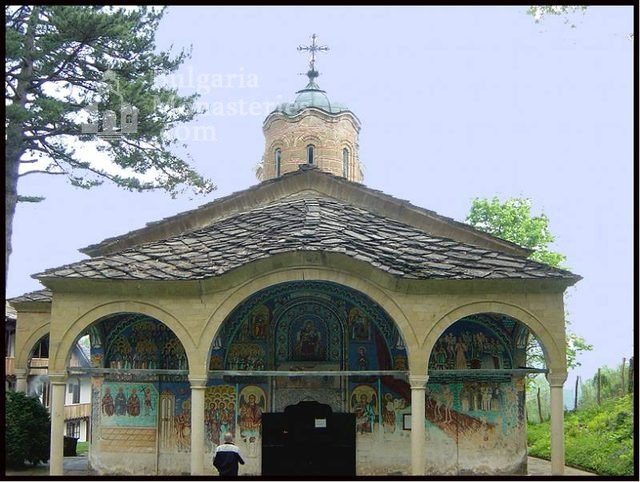 Батошевски манастир - Църквата