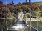 Батулийски манастир - Мостът над Искър, водещ до манастира