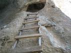 Бистрецки манастир  - Стълбата към Постница