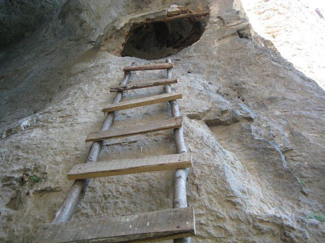 Бистрецки манастир  - Стълбата към Постница (Снимка 15 от 15)