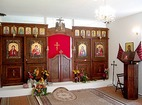 Ботевски манастир - Иконостасът в църквата