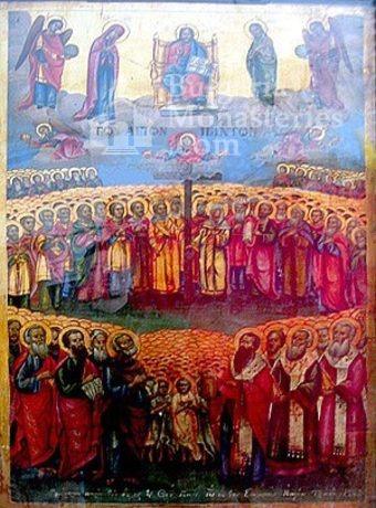 Ботевски манастир - Стенописна икона (Снимка 7 от 10)