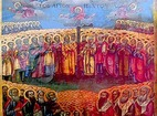 Ботевски манастир - Стенописна икона