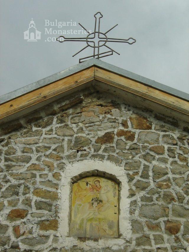 Букоровски манастир - Иконата на Св. Георги на входа на църквата (Снимка 8 от 10)