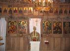 Чекотински манастир - Иконостасът в църквата