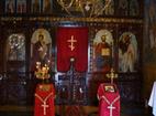 Чепински манастир - Иконостасът в църквата