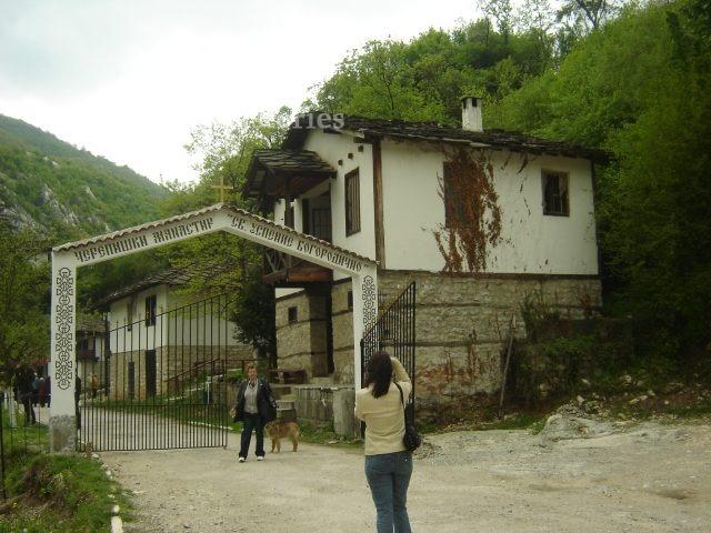 Черепишки манастир - Черепишкият манастир от птичи поглед (Снимка 2 от 29)
