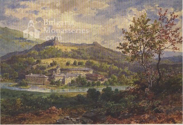 Черепишки манастир - Рисунка на Ф. Каниц (Снимка 19 от 29)