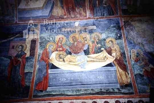 Черепишки манастир - Стенопис от църквата (Снимка 18 от 29)