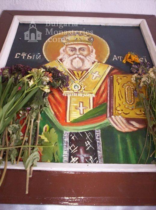 Чирпански манастир  - Икона на Св. Атанасий (Снимка 2 от 30)