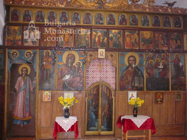 Дивотински манастир - Иконостасът в църквата (Снимка 13 от 16)
