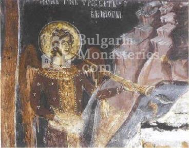 Драгалевски манастир - Тръбящ ангел (Снимка 21 от 22)