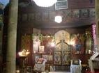 Голямобуковски манастир - Олтарът в църквата