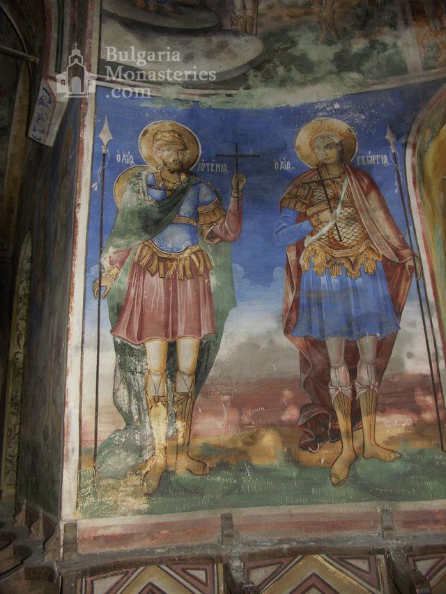 Горноводенски манастир - Стенописи в църквата (Снимка 11 от 20)