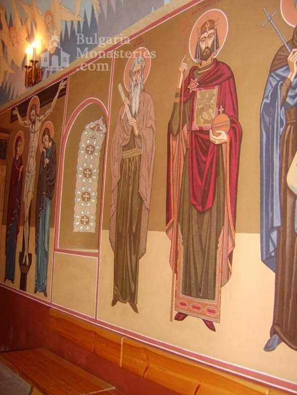 Градешки манастир - Стенописи (Снимка 4 от 16)
