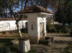 Гранишки манастир - Дворът с чешмата