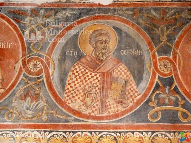 Илиянски манстир - Стенописите в храма (Снимка 2 от 2)