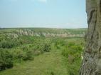 Ивановски манастир - Изглед от църквата Св. Богородица