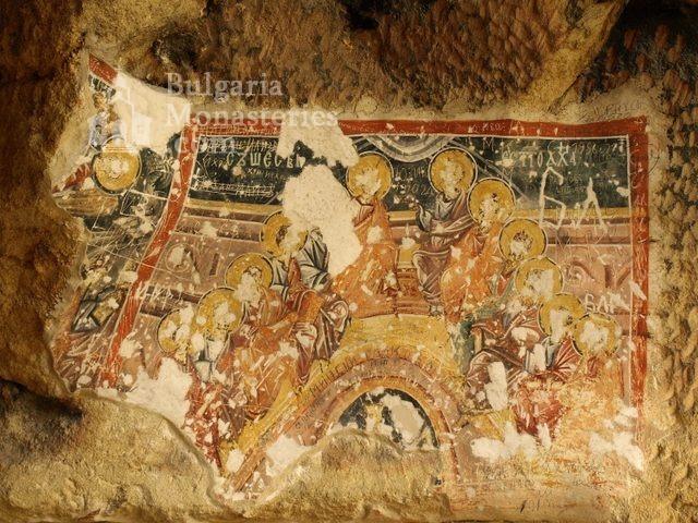 Ивановски манастир - Стенописи в църква Св. Теодор (Снимка 25 от 41)