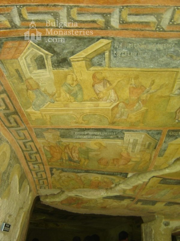 Ивановски манастир - Стенописи в църквата Св. Богородица (Снимка 4 от 41)