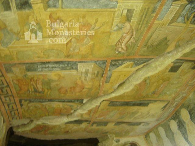 Ивановски манастир - Стенописи в църквата Св. Богородица (Снимка 5 от 41)