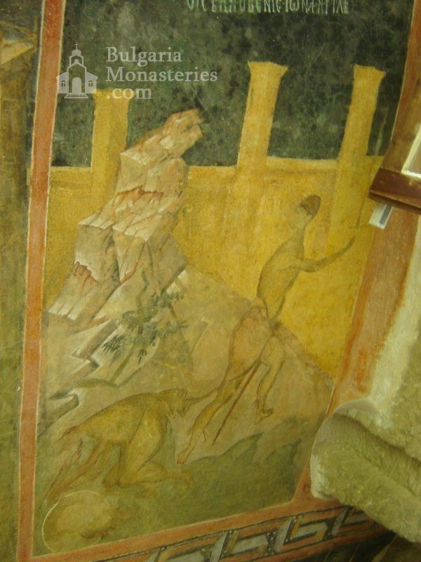 Ивановски манастир - Стенописи в църквата Св. Богородица (Снимка 7 от 41)