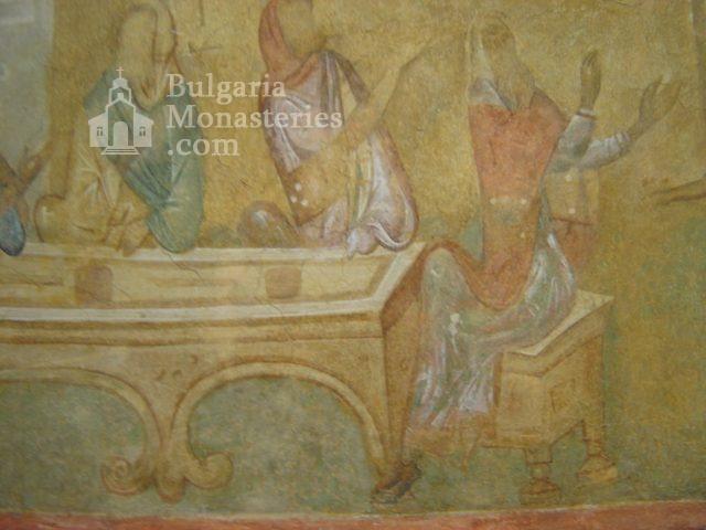 Ивановски манастир - Стенописи в църквата Св. Богородица (Снимка 8 от 41)