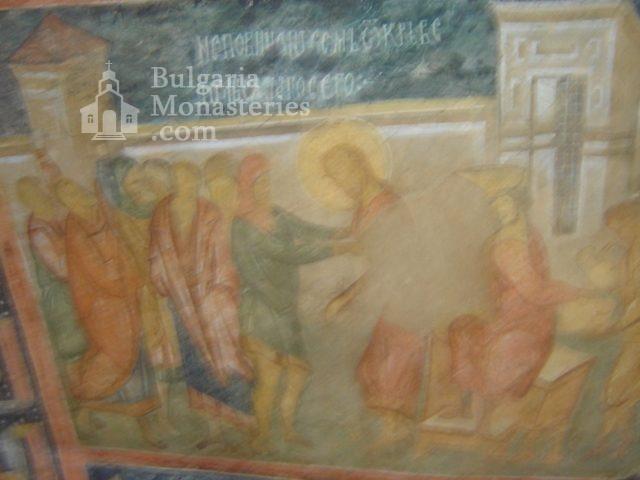 Ивановски манастир - Стенописи в църквата Св. Богородица (Снимка 9 от 41)