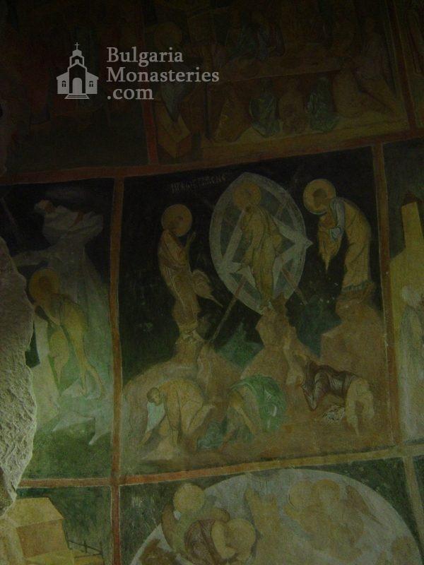 Ивановски манастир - Стенописи в църквата Св. Богородица (Снимка 11 от 41)