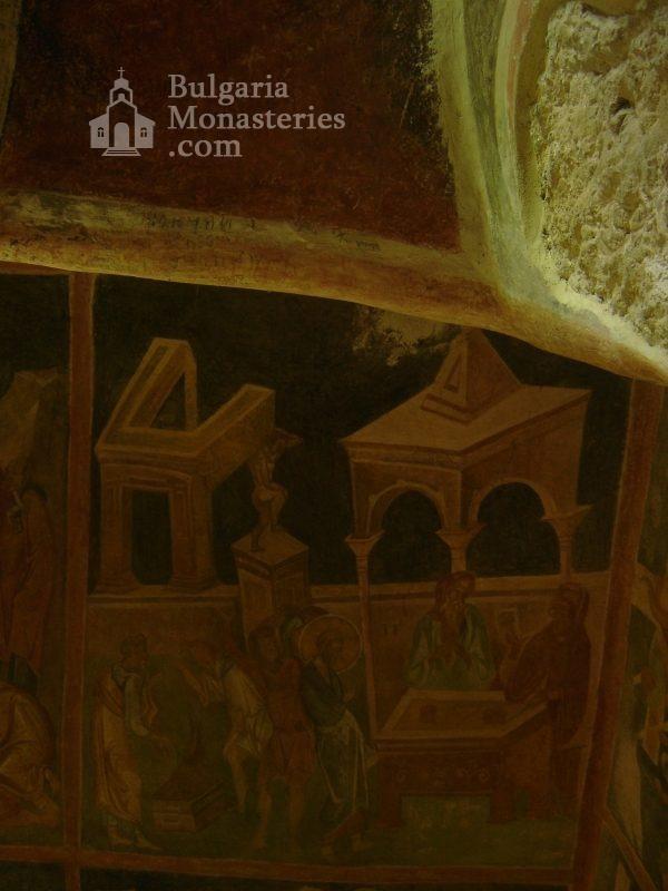 Ивановски манастир - Стенописи в църквата Св. Богородица (Снимка 14 от 41)