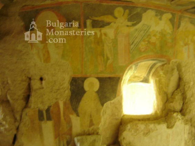 Ивановски манастир - Стенописи в църквата Св. Богородица (Снимка 15 от 41)