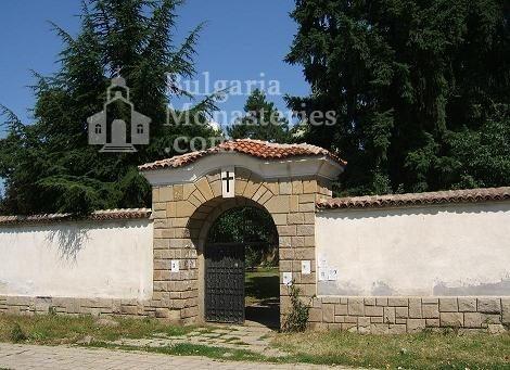 Казанлъшки манастир - Манастирският вход (Снимка 8 от 8)