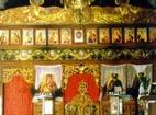 Кладнишки манастир - Иконостасът в църквата
