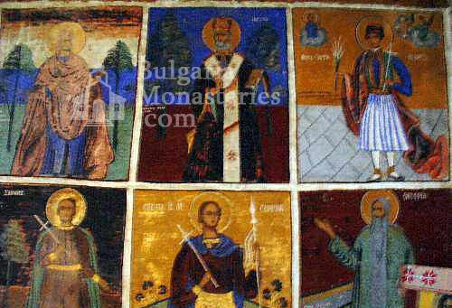 Кладнишки манастир - Стенописите в църквата (Снимка 7 от 16)
