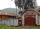 Кокалянски манастир - Манастирският вход