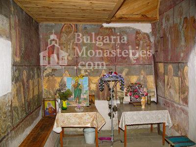Курилски манастир - Стенописи в църквата (Снимка 8 от 21)
