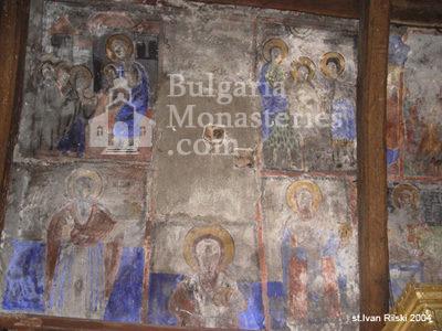 Курилски манастир - Стенописи в църквата (Снимка 17 от 21)