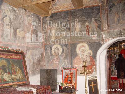 Курилски манастир - Стенописи в църквата (Снимка 20 от 21)