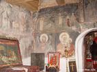 Курилски манастир - Стенописи в църквата